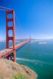 Golden Gate Bridge, San Francisco, USAの写真素材 [FYI03766809]