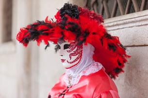 Venice Carnival, Venice, Venetoの写真素材 [FYI03766964]