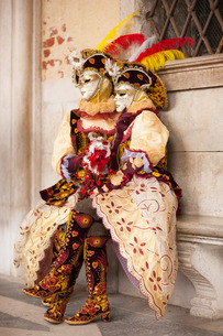 Venice Carnival, Venice, Venetoの写真素材 [FYI03766967]