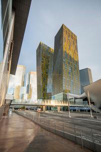 City Center Development, Las Vegas, Nevada'の写真素材 [FYI03766993]