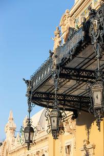 Casino detail, Monte Carlo, Monacoの写真素材 [FYI03767039]