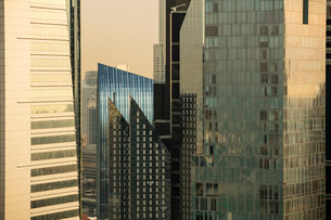 Sheikh Zayed Road, Dubai, United Arab Emirates, Middle Eastの写真素材 [FYI03767056]