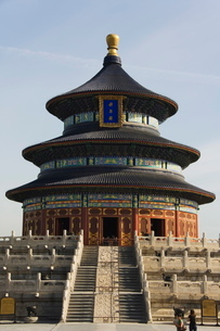 The Hall of Prayer for Good Harvests, The Temple of Heaven, Beijingの写真素材 [FYI03767396]