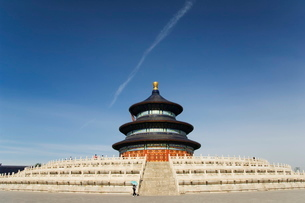 The Hall of Prayer for Good Harvests, The Temple of Heaven, Beijingの写真素材 [FYI03767402]