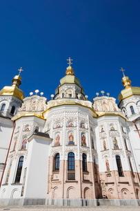 Dormition Cathedral (Uspensky Sobor), The Lavra, Kievraineの写真素材 [FYI03767571]