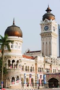 Sultan Abdul Samad Building, Merdeka Square, Kuala Lumpur, Malaysia, Southeast Asiaの写真素材 [FYI03767623]