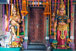 Sri Vadapathira Kaliamman Hindu Temple, Little India, Singapore, Southeast Asiaの写真素材 [FYI03767905]