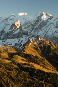 Marmolada group, Dolomites, Bolzano province, Trentino-Alto Adigeの写真素材 [FYI03768146]