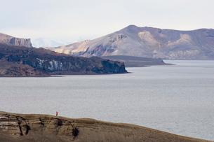 Deception Island, South Shetlands Islands, Antarcticaの写真素材 [FYI03768205]
