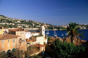 Villefranche sur Mer, Cote d'Azur, French Rivieraの写真素材 [FYI03768461]