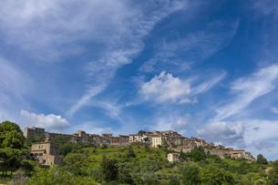 イタリア、トスカーナの風景の写真素材 [FYI03768651]