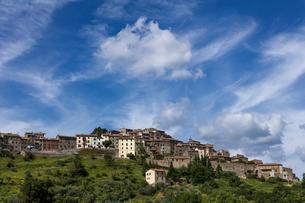 イタリア、トスカーナの風景の写真素材 [FYI03768685]