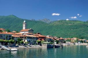 Feriolo, Lake Maggiore, Italian Lakes, Piemonte (Piedmont)の写真素材 [FYI03768746]