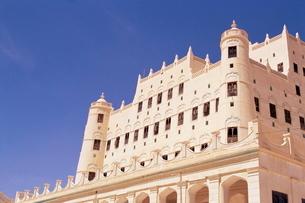 Sultan's Palace, Seyun, Republic of Yemen, Middle Eastの写真素材 [FYI03768761]