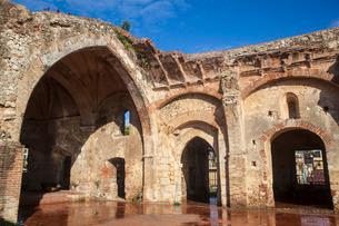 Monasterio De San Francisco, Colonial Zone, Santo Domingo, Dominican Republic, Caribbeanの写真素材 [FYI03769058]