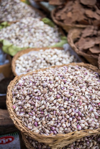 Shallots in Kalaw market, Shan Stateの写真素材 [FYI03769443]