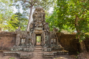 Baphuon Temple in Angkor Thom, Angkor, Siem Reap Province, Cambodia, Indochina, Southeast Asiaの写真素材 [FYI03769766]