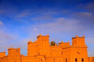 Kasbah Amerhidil, Skoura, Ouarzazate Regionの写真素材 [FYI03770786]