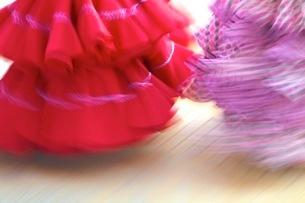 Flamenco dancers, Jerez de la Frontera, Cadiz Province, Andalusiaの写真素材 [FYI03770810]