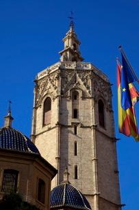 Miguelete Tower, Valenciaの写真素材 [FYI03770872]