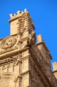 Detail of La Lonja de la Seda, Valenciaの写真素材 [FYI03770880]