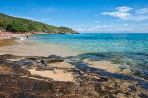 Joao Fernandes Beach, Buzios, Rio de Janeiro State, Brazilの写真素材 [FYI03770907]