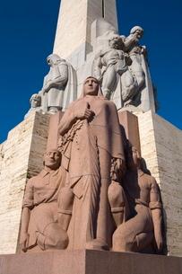 Latvian Freedom Monument, Riga, Latviaの写真素材 [FYI03771107]