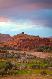 Ait Benhaddou, Atlas Mountainsの写真素材 [FYI03771188]