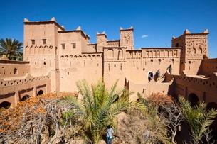 The 17th century Amerhidil kasbah, Skouraの写真素材 [FYI03771194]
