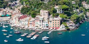 Portofino, Riviera di Levante, Province of Genoa, Liguriaの写真素材 [FYI03771761]