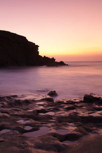 Playa de la Pared, La Pared, Fuerteventura, Canary Islands, Atlanticの写真素材 [FYI03771960]