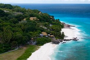 Fregate Island, Seychellesn Oceanの写真素材 [FYI03773401]