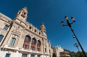Casino, Monte Carlo, Principality of Monaco, Cote d'Azurの写真素材 [FYI03773452]