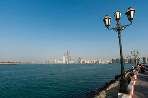 Abu Dhabi, United Arab Emirates, Middle Eastの写真素材 [FYI03773463]