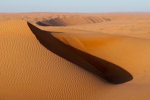 Wahiba Sands desert, Oman, Middle Eastの写真素材 [FYI03773478]