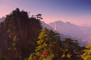 White Cloud scenic area, Huang Shan (Yellow Mountain), Anhui Provinceの写真素材 [FYI03774084]