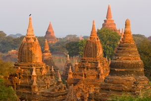 Raya-nga-zu Group, Bagan (Pagan)の写真素材 [FYI03774275]