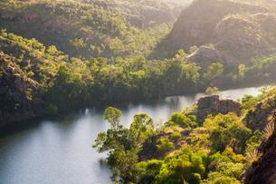 Katherine Gorge and Katherine River, Nitmiluk National Park, Northern Territoryの写真素材 [FYI03774388]