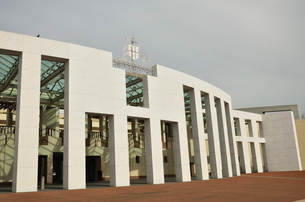 Parliament House, Canberran Capital Territoryの写真素材 [FYI03774524]