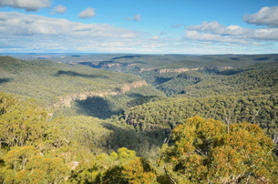 View of Ettrema Wilderness, Morton National Park, New South Walesの写真素材 [FYI03774537]