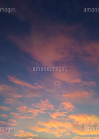 夕焼け空の写真素材 [FYI03775923]