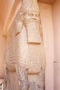 Irigal Gate, Nineveh, Iraq, Middle Eastの写真素材 [FYI03776904]