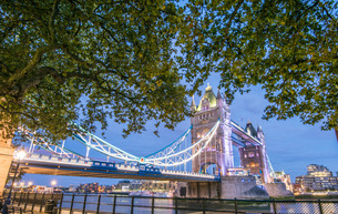 Tower Bridgeの写真素材 [FYI03777468]