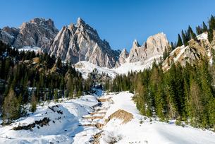 The Italian Dolomitesの写真素材 [FYI03777736]