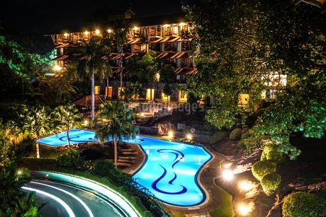ラグジュアリーホテルのイメージ(スリランカ・キャンディー)の写真素材 [FYI03777758]