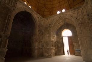 Ummayad Palace of Amman, Amman, Jordan, Middle East,の写真素材 [FYI03777925]