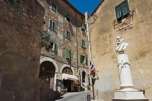 Campiglia Marittima, Livorno, Tuscanyの写真素材 [FYI03777982]