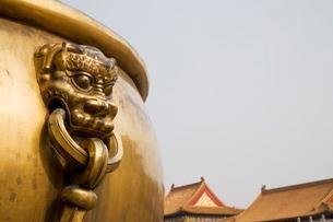 The Forbidden City (Zijin Cheng), Beijingの写真素材 [FYI03778126]