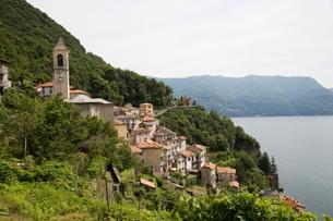 Careno, Lake Como, Lombardy, Italian Lakesの写真素材 [FYI03778152]