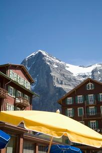 Kleine Scheidegg, Bernese Oberland, Berne Cantonの写真素材 [FYI03778158]